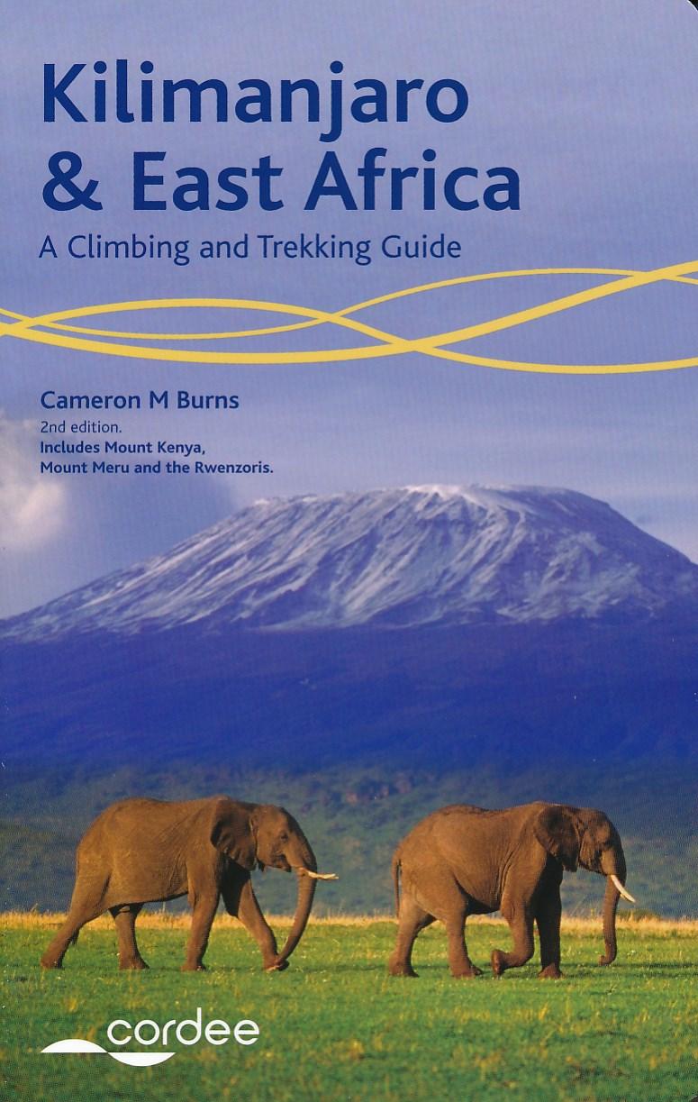 Wandelgids Kilimanjaro & East Africa   Cordee