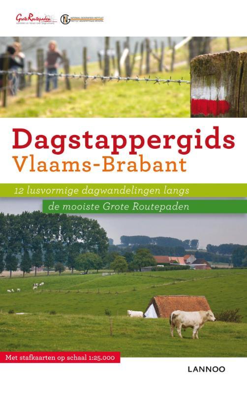 Wandelgids Dagstappergids Vlaams - Brabant 2   Lannoo
