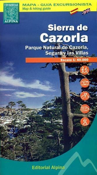 Wandelkaart Sierra de Gazorla - Sierra de Cazorla  Alpina
