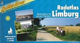 Fietsgids Radatlas Limburg   Bikeline