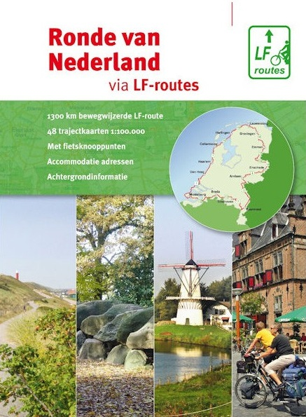 Fietsgids Ronde van Nederland via LF-routes   Buijten