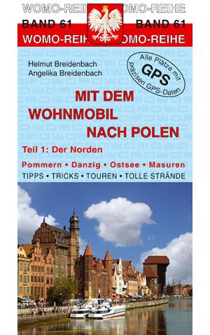 Campergids - Camperplaatsen Band 61: Mit dem Wohnmobil nach Polen (Norden)   Womo