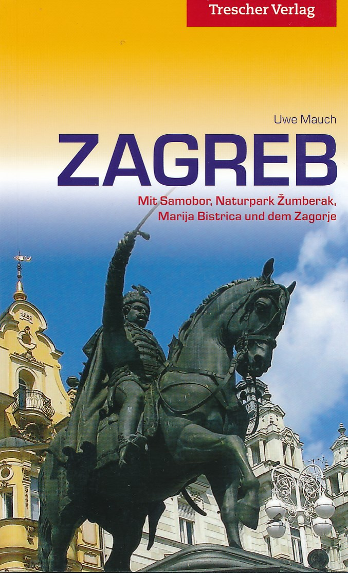 Reisgids Zagreb   Trescher Verlag