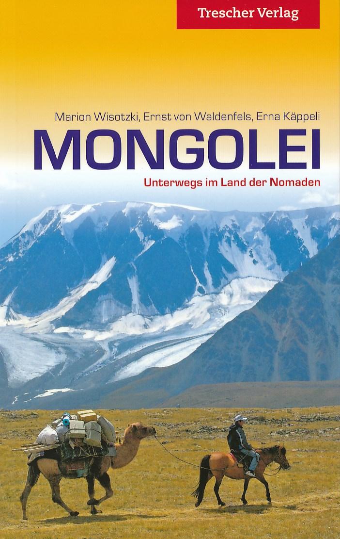 Reisgids Mongolei - Mongolië   Trescher Verlag