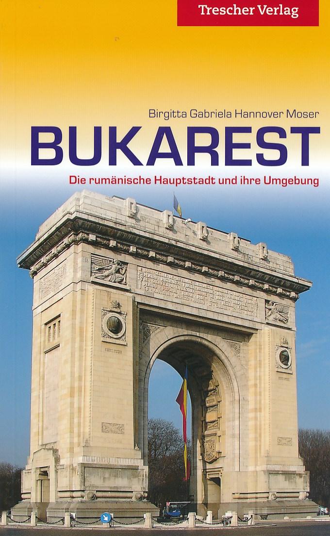 Reisgids Bukarest - Boekarest   Trescher verlag