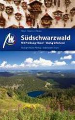 Reisgids S�dschwarzwald mit Freiburg, Basel und Markgr�fler Land - Zwarte Woud   Michael Muller Verlag