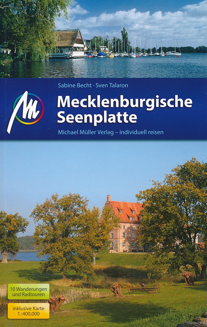 Reisgids Mecklenburgische Seenplatte   Michael Muller Verlag   Sabine Becht,Sven Talaron