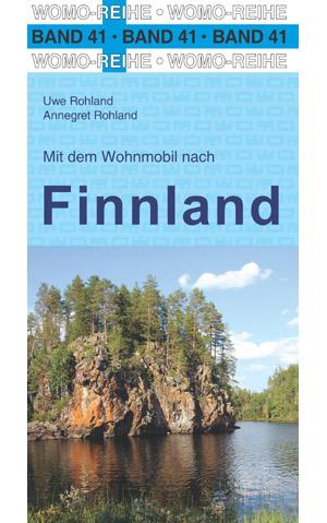 Campergids - Camperplaatsen Band 41: Mit dem Wohnmobil nach Finnland - Finland   Womo Verlag