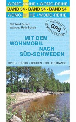 Campergids - Camperplaatsen Band 54: Mit dem Wohnmobil nach Schweden (Süd) - Zweden zuid   Womo Verlag