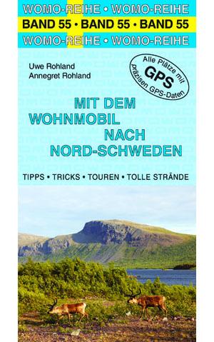 Campergids - Camperplaatsen Band 55: Mit dem Wohnmobil nach Schweden (Nord) - Zweden   Womo Verlag