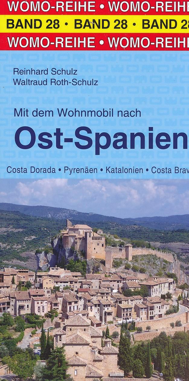 Campergids - Camperplaatsen Band 28: Mit dem Wohnmobil nach Spanien (Ost; Katalonien) Catalonië - Oost spanje    Womo Verlag