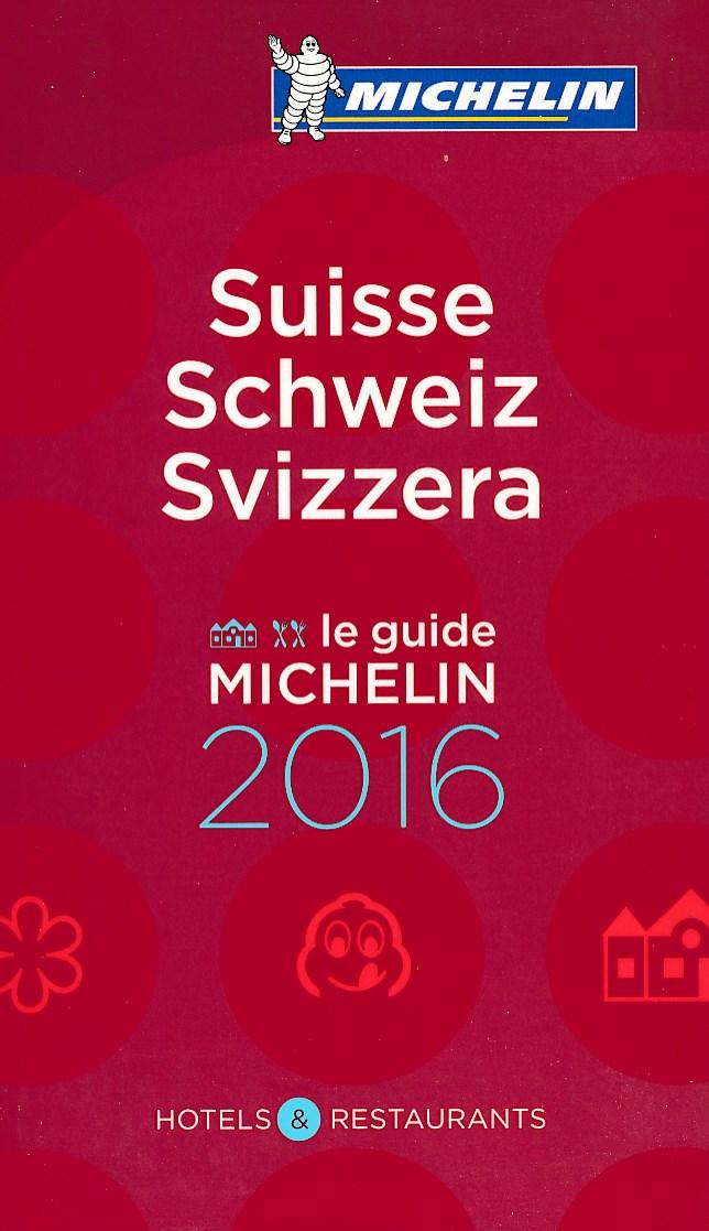 Hotel en Restaurantgids Rode Gids Suisse 2016 (Zwitserland)   Michelin