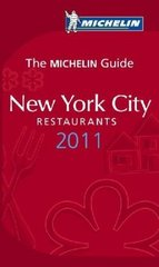 Hotel en Restaurantgids New York City 2011: Michelin rode gids :