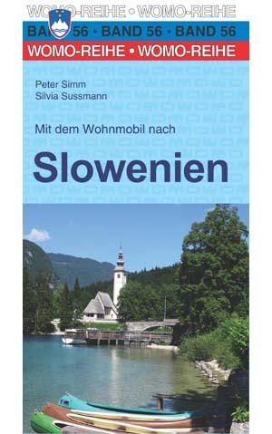 Campergids - Camperplaatsen Band 56: Mit dem Wohnmobil nach Slowenien - Slovenië   Womo Verlag