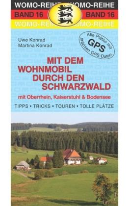 Campergids - Camperplaatsen Band 16: Mit dem Wohnmobil durch den Schwarzwald - Camper Zwarte Woud   Womo Verlag