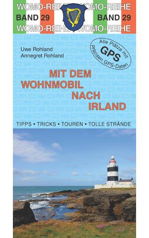 Campergids - Camperplaatsen Band 29: Mit dem Wohnmobil nach Irland - Camper Ierland   Womo Verlag