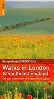 Reisgids Walks in London and South England - Londen en zuid Engeland : Rough Guides :