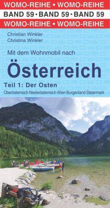 Campergids - Camperplaatsen Band 59: Mit dem Wohnmobil nach Österreich (Ost) - Oostenrijk oostelijk deel   Womo Verlag