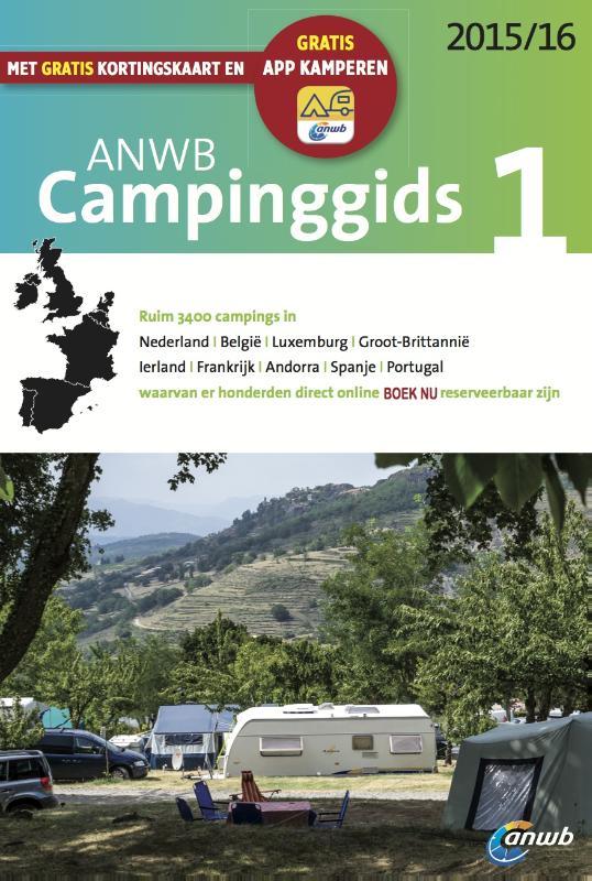 Campinggids ANWB Europa deel 1 2015/2016   ANWB