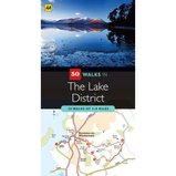 Wandelgids 50 Walks in the Lake District : AA :