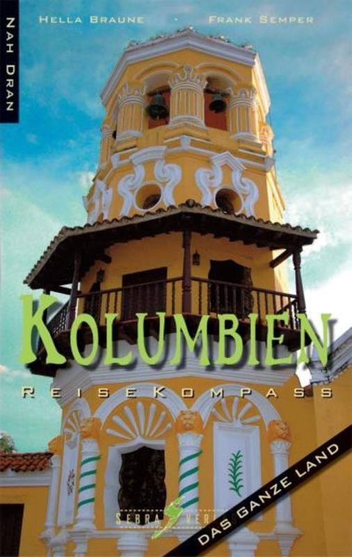 Reisgids Kolumbien Reisekompass ( Colombia )   Sebra
