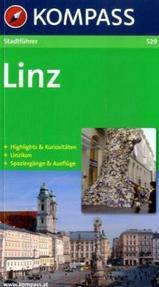 Reisgids - Stadsgids 529 Linz   Kompass