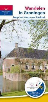 Wandelgids Wandelen  in Groningen langs het Hunze- en Fivelpad   BDU uitgevers