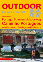 Wandelgids Jakobsweg:  Caminho Portugues - wandelroute Porto - Santiago de Compostela   Conrad Stein