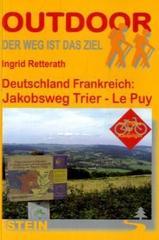 Wandelgids Jakobsweg Trier - Le Puy - Jacobspad   Conrad Steinverlag