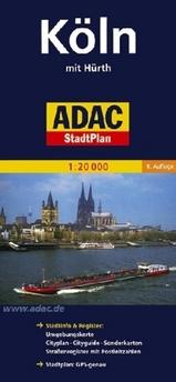 Plattegrond - Stadplattegrond Koln - Keulen    ADAC