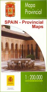 Wegenkaart - landkaart Almeria Provinciekaart  IGN Spanje