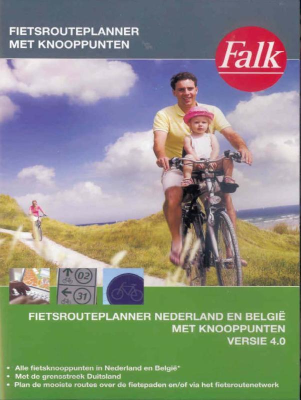 Fietsknooppunten Routeplanner 4.0 Nederland DVD   Falk