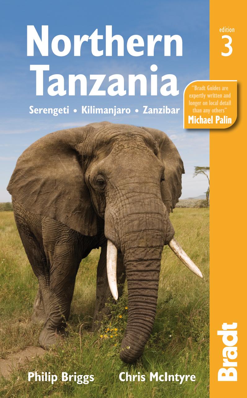 Reisgids Northern Tanzania - Noord Tanzania   Bradt Guide