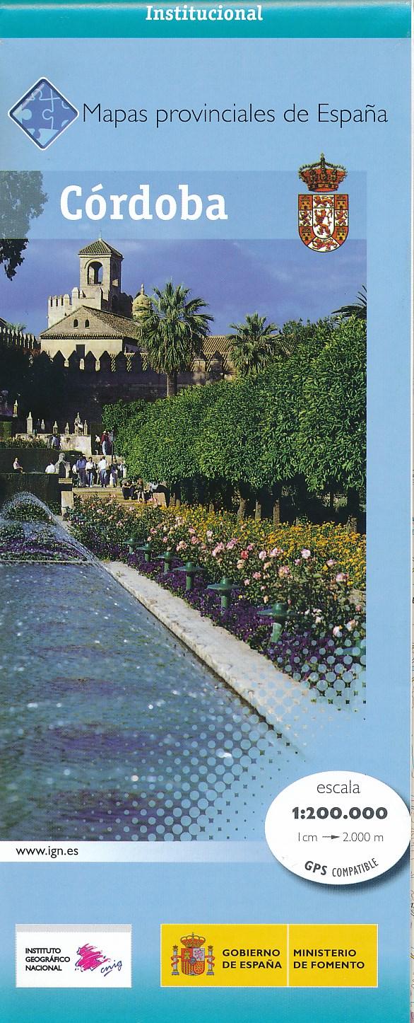 Wegenkaart - landkaart Cordoba Provinciekaart   IGN Spanje