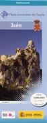 Wegenkaart - landkaart Jaen Provinciekaart  IGN Spanje