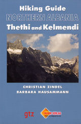 Wandelgids Noord Albanië: Thethi und Kelmend   Huber Verlag