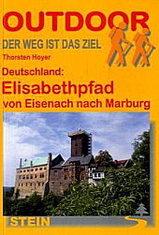 Wandelgids Elisabethpfad von Eisenach nach Marburg   Conrad Stein