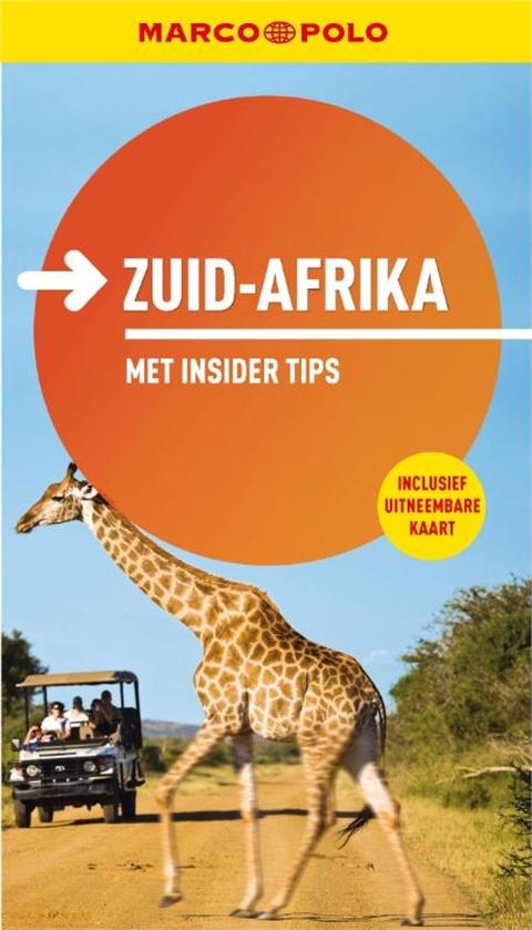 Reisgids Zuid-Afrika Marco Polo   Unieboek