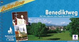 Fietsgids Benediktweg, Auf den Spuren von Papst Benedikt XVI   Bikeline