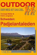 Wandelgids Padjelantaleden - Zweden   Conrad Stein verlag