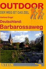 Wandelgids Barbarossaweg durch den Norden von Hessen und Th�ringen   Conrad Stein Verlag