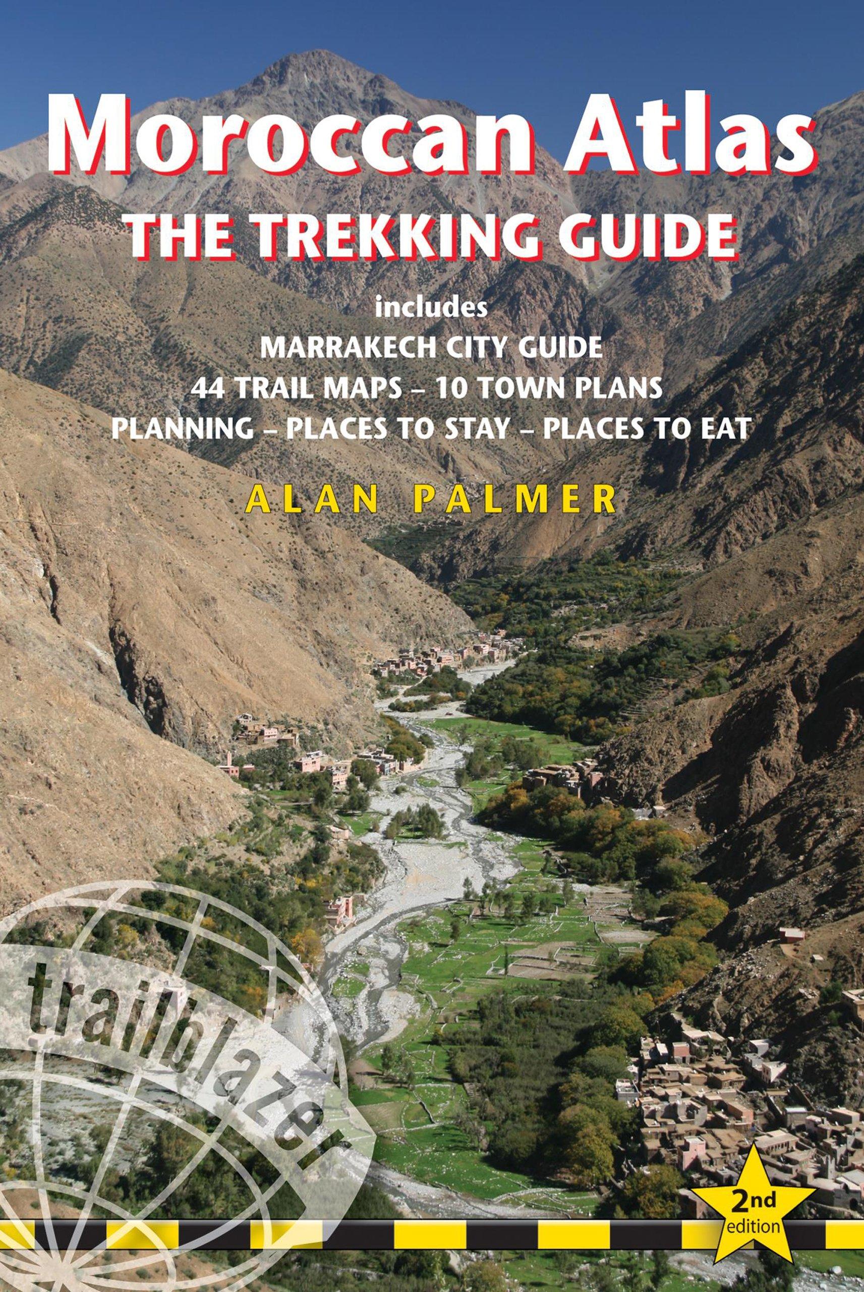 Wandelgids Moroccan Atlas - the trekking guide Marokko   Trailblazer