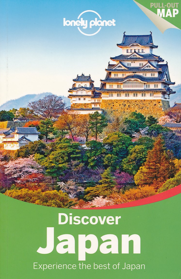 Reisgids Discover Japan   Lonely Planet
