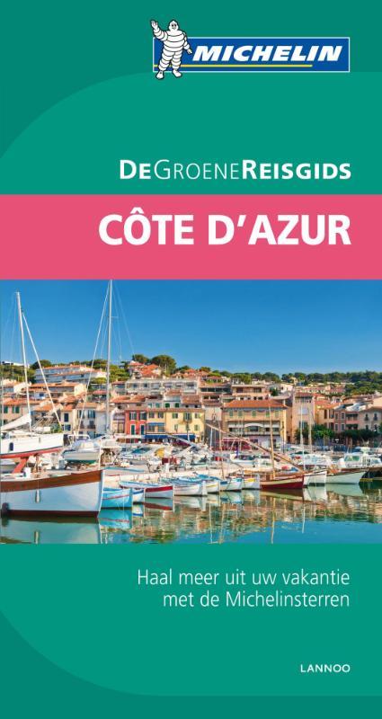 Reisgids Groene gids Côte d'Azur   Michelin