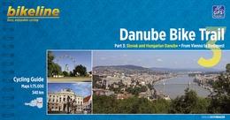 Fietsgids Bicycle Guide Danube Bike Trail 3 (Engels - Donau Radweg)   Bikeline
