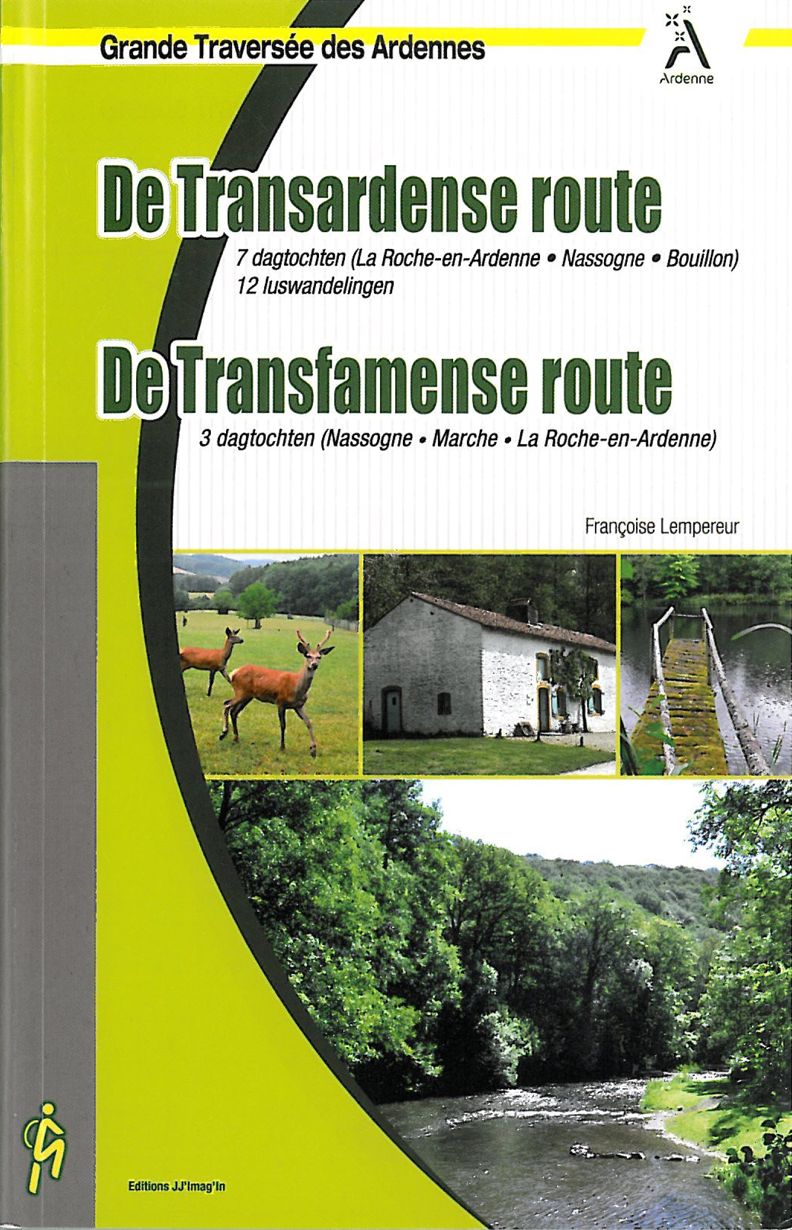 Wandelgids De Transardense Route (Ardennen)   JJ'Imag'In