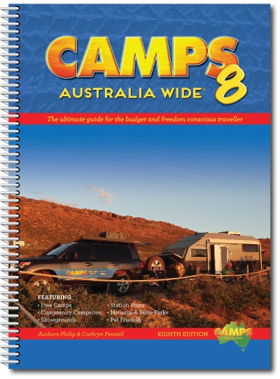 Campinggids Camps Australia Wide 8: Spiral Bound ( A4 )   Camps Australia Wide