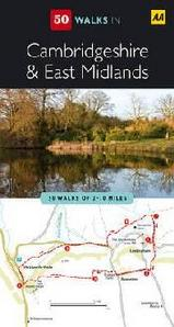 Wandelgids 50 Walks In Cambridgeshire & East Midlands : AA :
