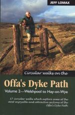 Wandelgids Offa's Dyke Path circular walks (Vol.2 Welshpool-Hay on Wye) : Mara Books :