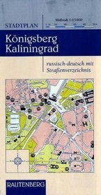 Plattegrond - Stadsplattegrond Königsberg - Kaliningrad   Rautenberg